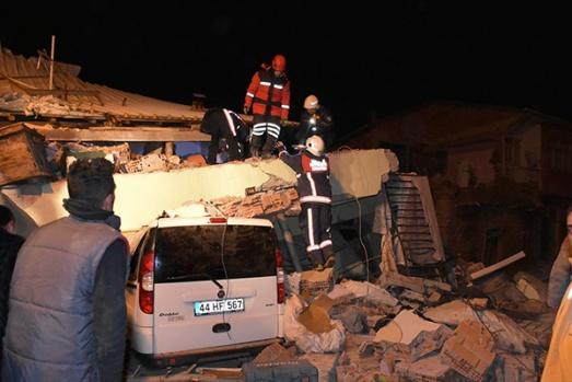 Elazığ'da deprem felaketi