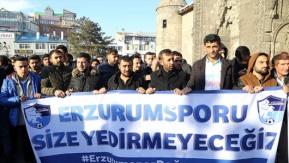 ERZURUMSPOR TARAFTARINDAN TFF VE MHK'YE TEPKİ