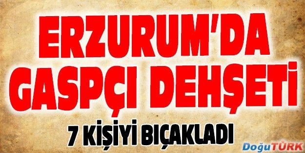 ERZURUM'DA GASPÇI DEHŞETİ