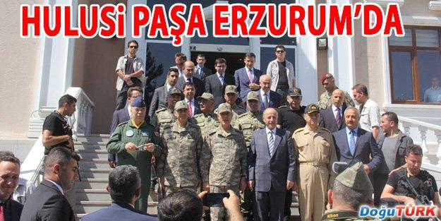 HULUSİ PAŞA ERZURUM'DA
