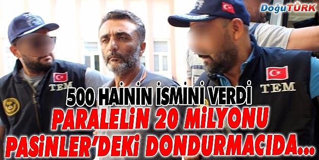 PARALELİN 20 MİLYONU ERZURUM'DAKİ DONDURMACIDA ÇIKTI!