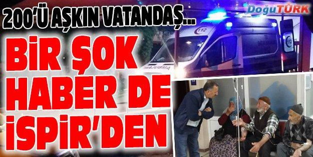 200'Ü AŞKIN KİŞİ HASTANEYE KALDIRILDI