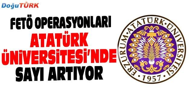 ATATÜRK ÜNİVERSİTESİ'NDE SAYI ARTIYOR