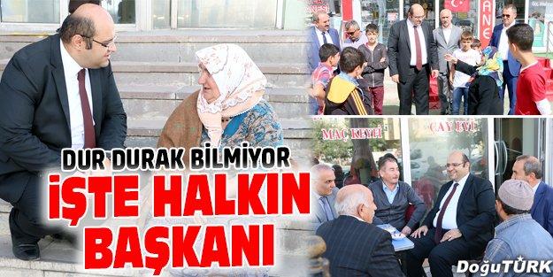 BAŞKAN ORHAN'DAN ESNAF ZİYARETLERİ