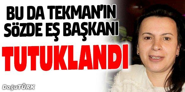 ERZURUM'DA DBP'Lİ EŞ BAŞKAN TUTUKLANDI