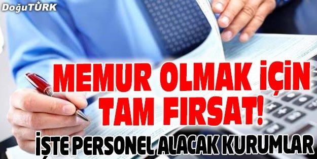 MEMUR OLMAK İSTEYENLERE İŞTE FIRSAT!