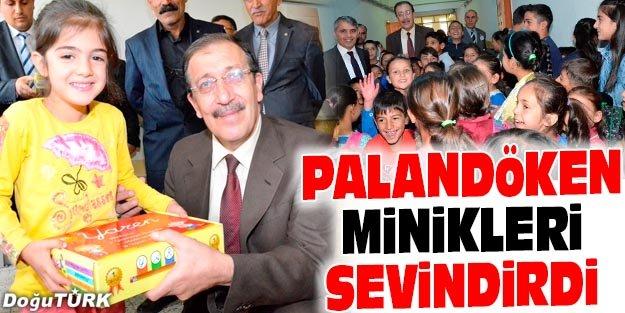 PALANDÖKEN'DEN ÖĞRENCİLERE EĞİTİM SETİ