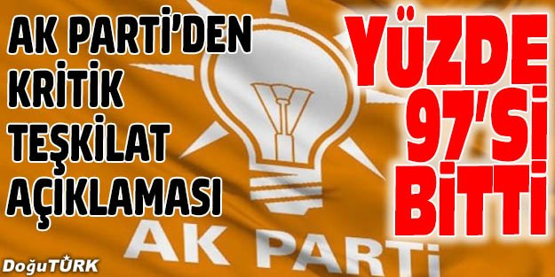 AK PARTİ'DEKİ FETÖ/PDY İNCELEMESİ... EN YETKİLİ AĞIZDAN AÇIKLAMA!