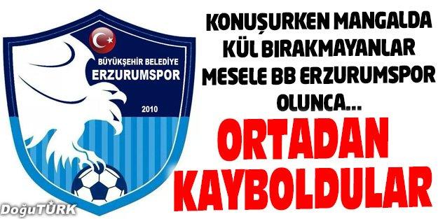 BB ERZURUMSPOR'A KİM NE KADAR KATKI SUNDU...
