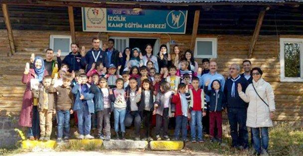 İZCİLERDEN 'KARDEŞ SINIF PROJESİ'