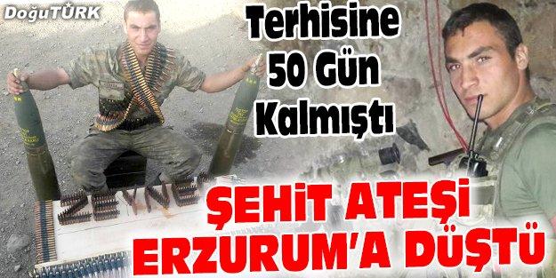 TERHİSİNE 50 GÜN KALA ŞEHİT OLDU
