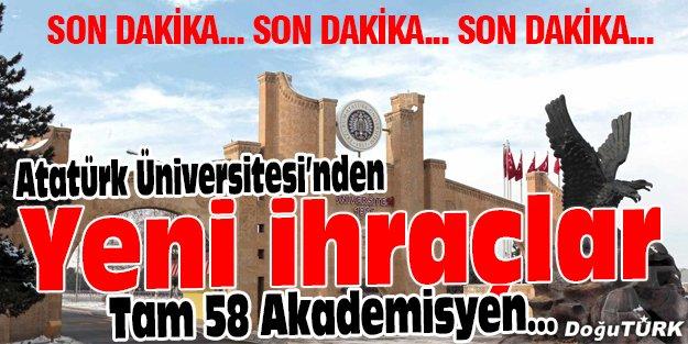 ATATÜRK ÜNİVERSİTESİ'NDEN BÜYÜK İHRAÇ!
