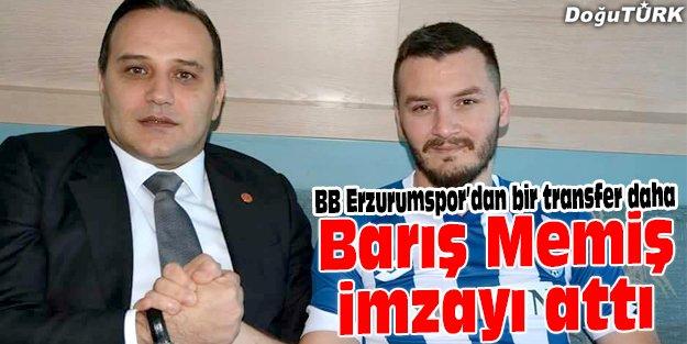 BB ERZURUMSPOR, ADANASPOR'DAN BARIŞ MEMİŞ'İ TRANSFER ETTİ