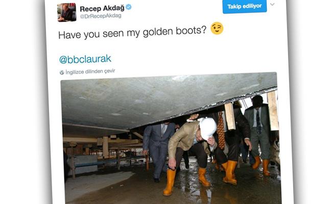 BBC MUHABİRİNE BAKAN AKDAĞ'DAN TARİHİ YANIT
