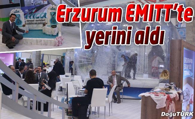 ERZURUM EMITT 2017'DE YERİNİ ALDI