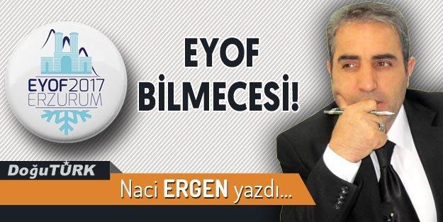 EYOF BİLMECESİ!