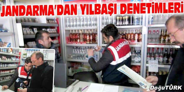 JANDARMA'DAN YILBAŞI DENETİMLERİ