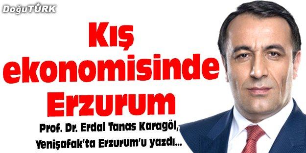 Kış ekonomisinde Erzurum