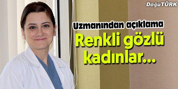 RENKLİ GÖZLÜLER DİKKAT!