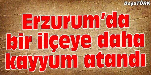 TEKMAN BELEDİYESİ'NE KAYYUM ATANDI