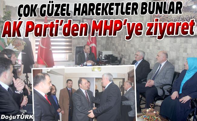 AK PARTİ'DEN, MHP'YE ZİYARET