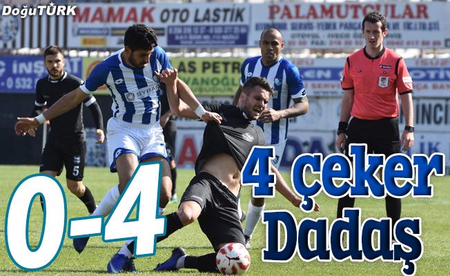 DADAŞ NAZİLLİ'YE PATLADI: 0-4