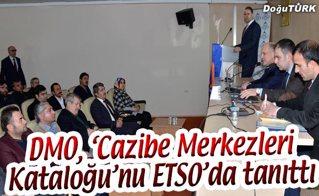 DMO, 'CAZİBE MERKEZLERİ KATALOĞU'NU ETSO'DA TANITTI