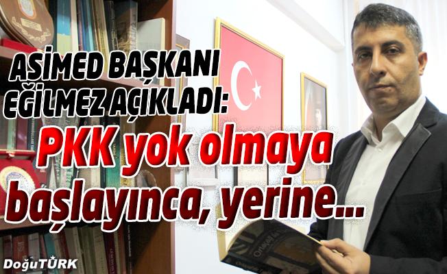 EĞİLMEZ: PKK YOK OLMAYA BAŞLAYINCA YERİNE PYD'Yİ GÜÇLENDİRİP, MEŞRULAŞTIRIYORLAR