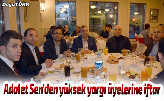 Adalet Sen'den yüksek yargı üyelerine iftar yemeği
