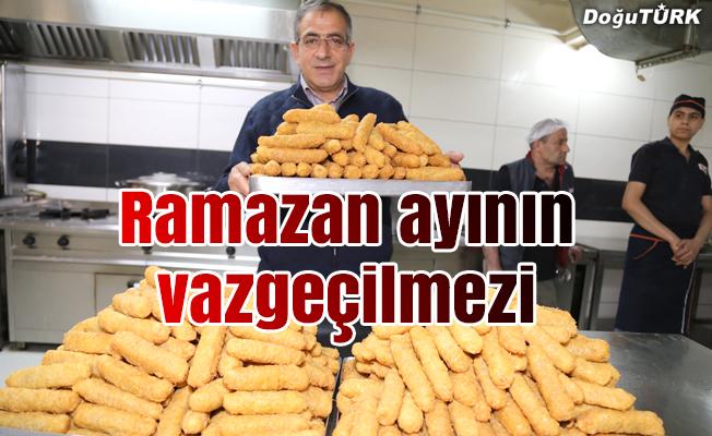 Dadaşların 'tatlı dolması' en çok ramazanda tüketiliyor