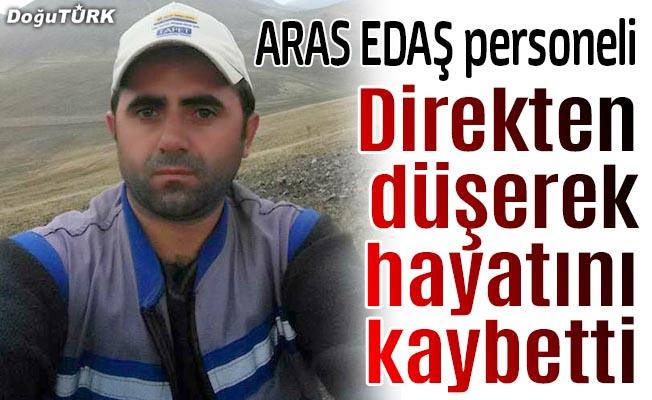 Direkten düşen elektrik işçisi öldü