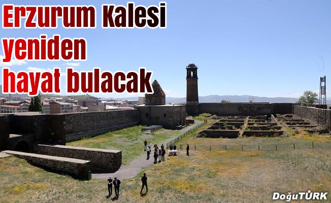 Erzurum Kalesi yeniden hayat bulacak