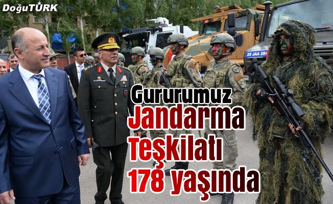 Jandarma teşkilatı 178. yılını kutluyor