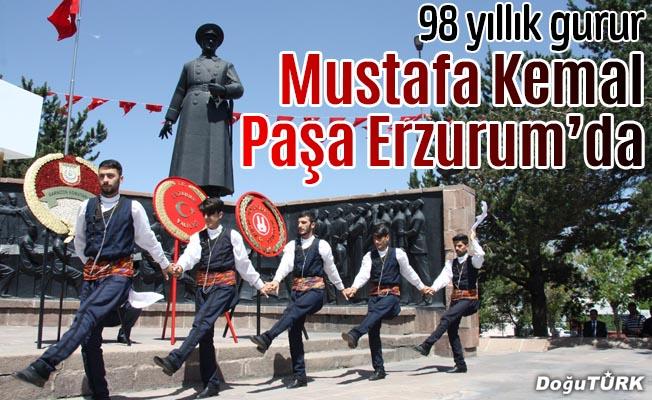 Atatürk'ün Erzurum'a gelişinin yıl dönümü
