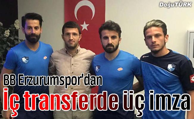 BB Erzurumspor 3 sporcusuyla sözleşme yeniledi