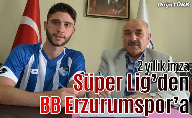 BB Erzurumspor'dan orta sahaya takviye