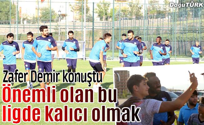 BB Erzurumspor yeni sezona hazırlanıyor