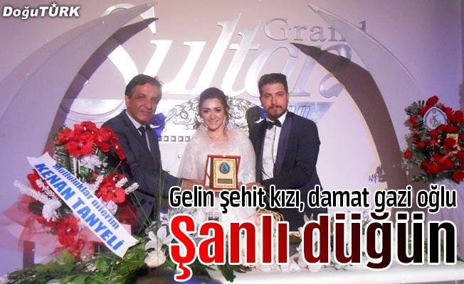 Erzurum'da şanlı düğün