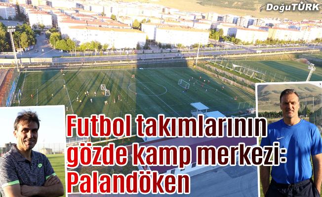 Futbol takımlarının gözde kamp merkezi: Palandöken