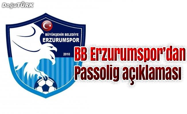 BB Erzurumspor'dan 'Passolig' açıklaması