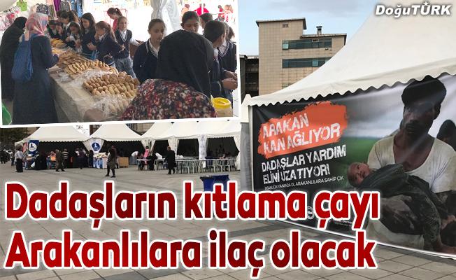 Dadaşların kıtlama çayı Arakanlılara ilaç olacak
