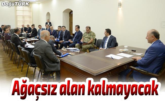 """""""Erzurum'da ağaç olmayan alan bırakmayacağız"""""""
