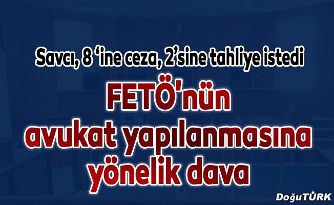 Erzurum'da FETÖ'nün avukat yapılanmasına yönelik dava
