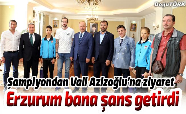 Guliyev, Vali Azizoğlu'nu ziyaret etti