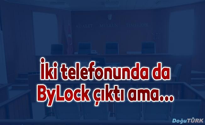 İki telefonunda da ByLock bulunmasına rağmen iddiaları reddetti