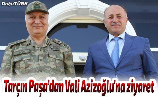 Tarçın Paşa'dan Vali Azizoğlu'na ziyaret
