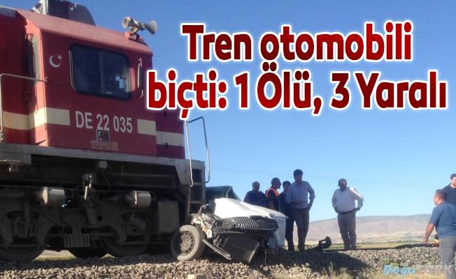 Hemzemin geçitte trafik kazası: 1 ölü