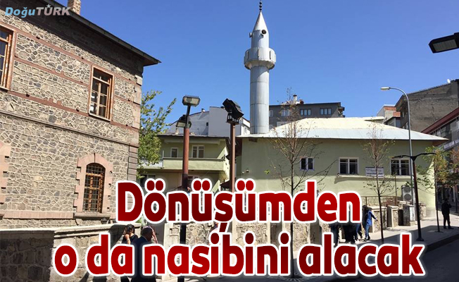 Yukarı Mumcu Camii yer değiştirecek