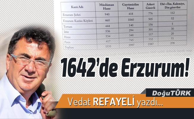 1642'de Erzurum!