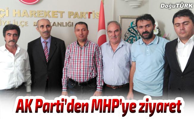 AK Parti'den MHP ilçe teşkilatına ziyaret
